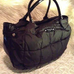 KATE SPADE - large nylon handbag